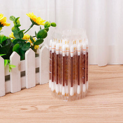 50pcs Disposable Medical Iodophor Cotton Swab Stick Outdoor Home Emergency Tool