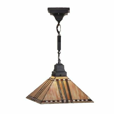 Meyda Tiffany 49155 Stained Glass / Tiffany Down Lighting Pendant from the Prair