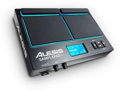 Alesis SamplePad 4 Percussion Sounds Sample Triggering SD LED USB MIDI Sampling