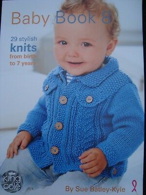 Knitting Pattern Book Baby Book 8 King Cole Knitting Pattern Book