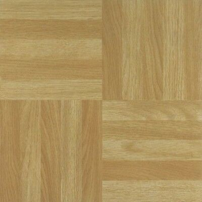 16 x DARK WOOD SQ  SELF ADHESIVE STICK ON VINYL FLOORING FLOOR TILES