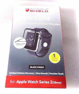 Invisible Shield Glass Luxe Screen Protector for Apple Watch Series 2