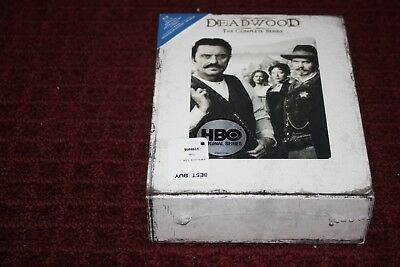 Deadwood - The Complete Series (Blu-ray Disc, 2013, 13-Disc Set) *Brand New*