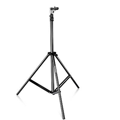 Neewer Aluminum Alloy Light Stand with Background and Reflector Disc Holder Clip