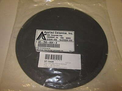 Applied Ceramics 40-753-004-3 Disc Top Oblated Stripper Tegal New Surplus