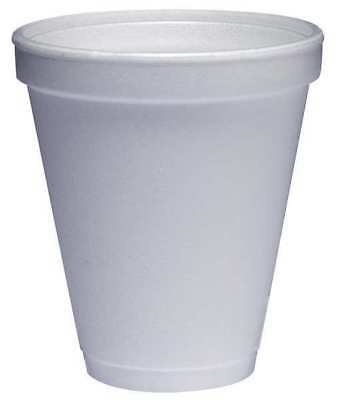 Disposable Cold/Hot Cup, White ,Dart, 12J16