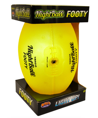 New Britz'n Pieces Tangle Nightball Footy Bma2006 - Yellow