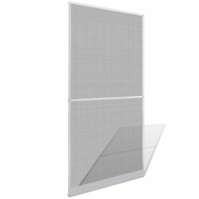 vidaXL Hinged Mesh Screen Door Anti-insect Fly Mosquito Net 100x215cm White