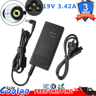 19V 4.74A 90W ADAPTER FOR ASUS TOSHIBA LAPTOP CHARGER POWER SUPPLY + Lead  Cord