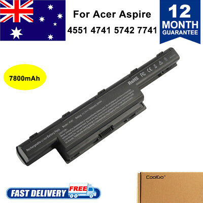 9CELL Battery For Acer Aspire 4741 5741 5741G 5742 5742G 7741 AS10D31 AS10D41