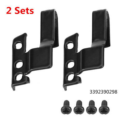 2 Sets Car Front Windshield Wiper Blade Arm Adapter Mounting Kit 3392390298 SP