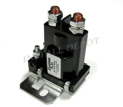 High Current 80 Amp Relay Battery Isolator Install Dual Car Battery Wiring 12V