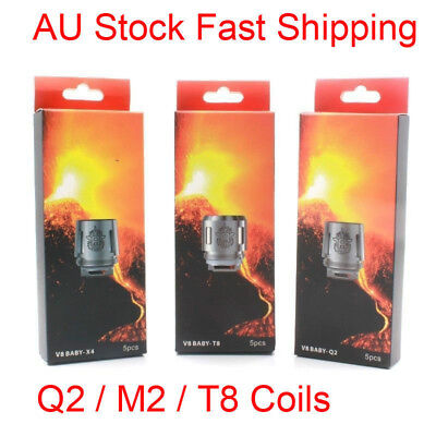 5x Replacement Coils For Smok V8 Q2/M2/T8 TFV8 Baby/ Big Baby Beast Tank