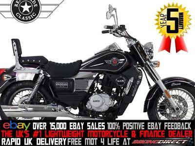UM Renegade Classic 125 125cc Chopper Cruiser *FINANCE AND UK/IRE DELIVERY*