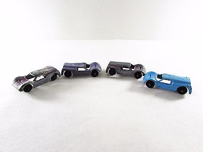 Vintage Ford GT Tootsie Toy Lot of 4 Blue and Purple