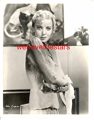 Vintage Ida Lupino BLONDE EARLY 30s BEAUTY Publicity Portrait