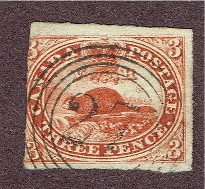 "Canada #4 Vg Son ""27"" Ring Cancel Ottawa  (Aym30"