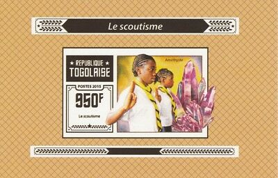 Togo  6967  - 2015 SCOUTING #3  imperf deluxe shee unmounted