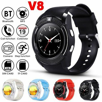 New Bluetooth Smart Wrist Watch GSM Phone For Android Samsung iOS iPhone Huawei