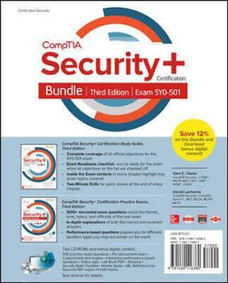 CompTIA Security+ Certification Bundle, Third Edition (Exam SY0-501) by Glen E.