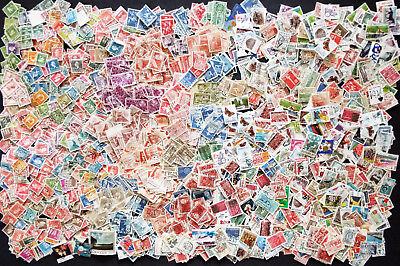 Large Mix Of Stamps From Denmark