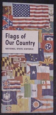 Flags of Our Country Nat'l State Historic Pledge of Allegiance - Humble Oil 1962