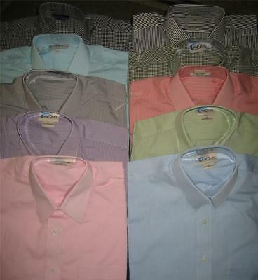 (4) Las Olas Shirts~ Red Black Green Striped Checked Tops~ Tagged S, Fits like M
