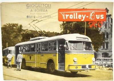 Brawa Ho Trolley-Bus Catalogue & Factory Flyer - Excellent!