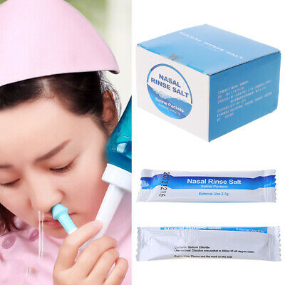 30 Bags Cleaning Salt Rhinitis Avoid Allergic Wash Nose Care Nose Care