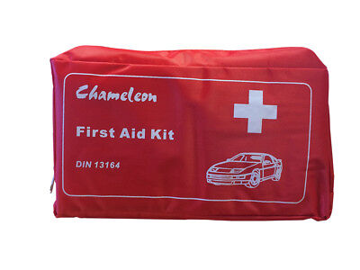 Vehicle First Aid Kit for Travel Emergencies Home Holiday - DIN 13164