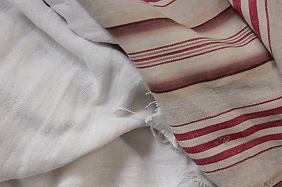 Antique Vintage French fabrics linen + ticking  PROJECT BUNDLE
