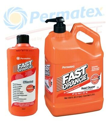 [EUR 6,77/L] Set FAST ORANGE Permatex Industrie Handwaschpaste Handreiniger