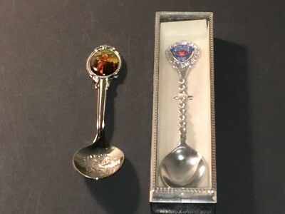 Vintage Roy Rogers & Tom Mix Collector's Spoons - Xf!