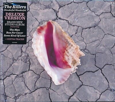 Killers Wonderful Wonderful Deluxe Edition CD NEW The Man Run For Cover