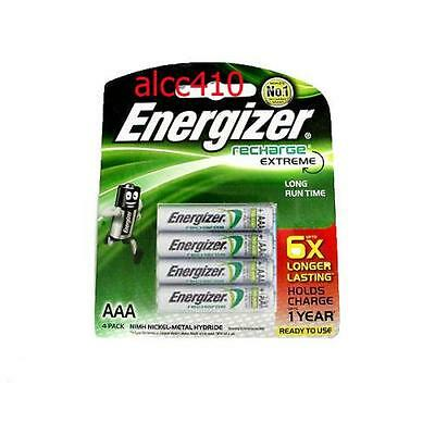 Energizer Recharge Extreme 800mAh 1.2V AAA Rechargeable Battery 4 8 12 16 20pcs