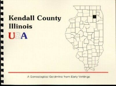 Kendall County Illinois History/residential Directory~Yorkville~Genealogy~New~Il
