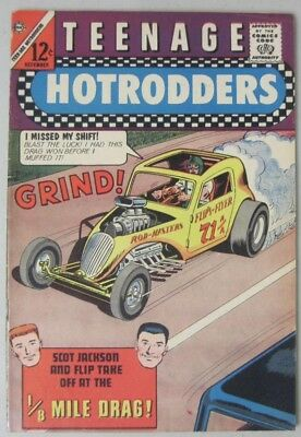 Teenage Hotrodders #5 December 1963 Charlton Comics Jack Keller