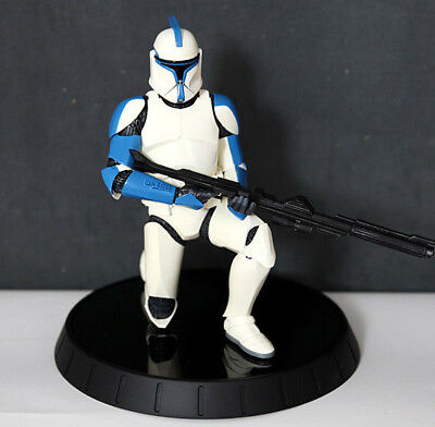 STAR WARS LIMITED EDITION Nr. 1/600 ! BLUE CLONE TROOPER LIEUTENANT GENTLE GIANT