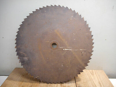 L2889- 21 inch Large Antique Sawmill Buzz Saw Blade Vintage Rustic Cabin Decor