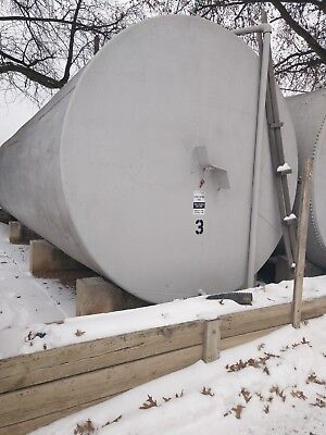 20,000 gallon oil tank 10' diameter 34' long used for #2Heating oil Above Ground