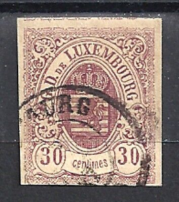 LUXEMBOURG 10 - Used - CV $300.00