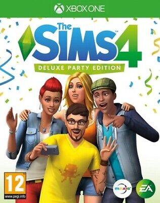The Sims 4: Deluxe Party Edition (Xbox One) PEGI 12+ Simulation Amazing Value