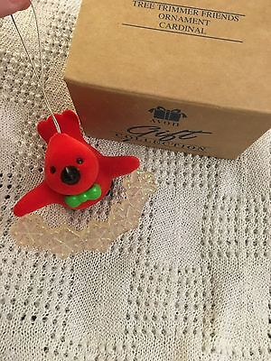 Avon Tree Trimmer Friends Ornament Cardinal