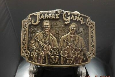 Award Design Medals The  James Gang Frank And Jesse First Edition  [819]