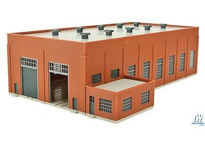 Walthers Cornerstone 933-3266 N Scale Two-Stall 130' Brick Diesel House
