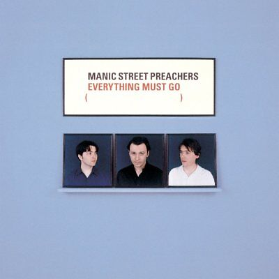 MANIC STREET PREACHERS Everything Must Go LP Blue Vinyl NEW 2016