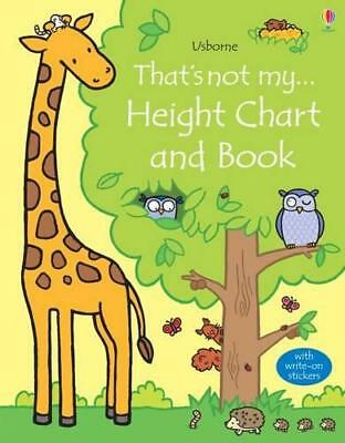 That's Not My Height Chart and Book by Fiona Watt   Hardcover Book   97814095973