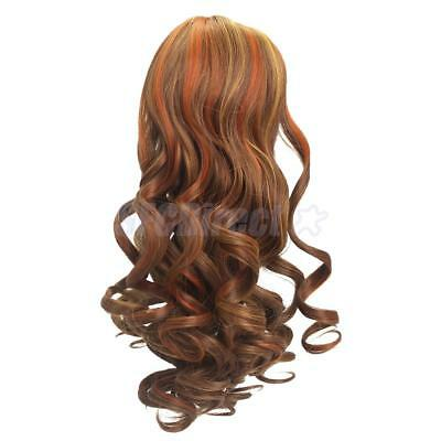 32CM High-temperature Wire Roman Curly Hair Wig for 18'' American Girl Dolls