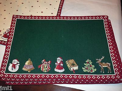 Villeroy & Boch CHRISTMAS EVE 2013 Toy's Delight Cloth Place Mat