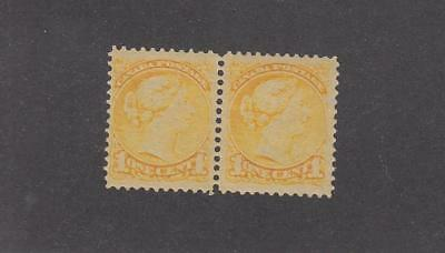 CANADA SELECTION OF MNH SMALL QUEENS JUBILEES ETC (#54 has faint crease)CV $1020